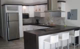 U Shaped Kitchen Cabinet Design Homeofficed 233 Coration U En Forme De Meuble De Cuisine Design