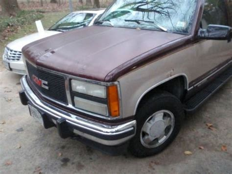 how to sell used cars 1993 gmc suburban 2500 spare parts catalogs find used 1993 gmc suburban in reisterstown maryland united states for us 1 999 00