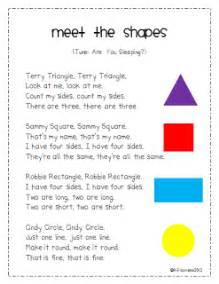 colors and shapes lyrics mrs albanese s kindergarten class shapes galore