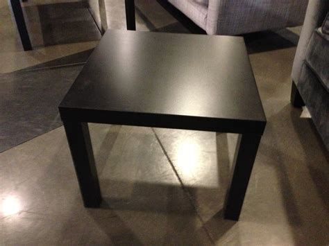 ikea black side table accent tables events inventory
