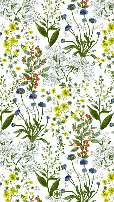 botanical wallpaper summer 2014 exclusive wallpaper tory daily