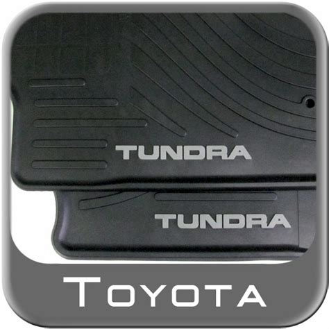 Toyota Tundra Rubber Floor Mats by 2012 2013 Toyota Tundra Carpeted Floor Mats Black