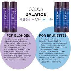 color balance hair joico color balance blue shoo 300ml joico haircare