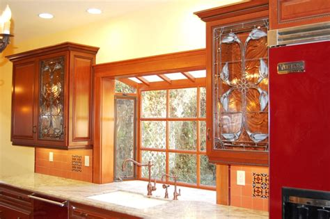 Stained Glass For Kitchen Cabinets Tico Tech Stained Glass Stained Glass Cabinets