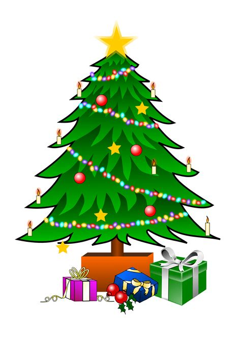 christmas trees pictures clip art clipart best