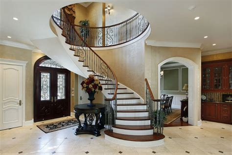 Classic Colonial Floor Plans by 33 Sensational Wooden Staircase Design Ideas Photos