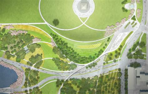 Landscape Architecture Olin National Mall Winning Design For Sylvan Theater