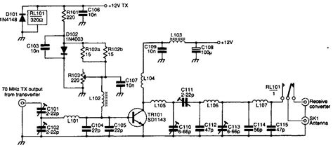 rf transistor lifier design and matching networks 70mhz rf fm power lifier