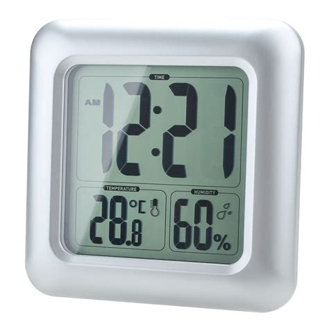 Humidité Salle De Bain by Lcd Water Resistant Shower Clock Bat End 1 12 2018 3 15 Pm