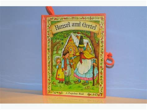 hansel and gretel book report 1977 hansel and gretel peep show book saanich