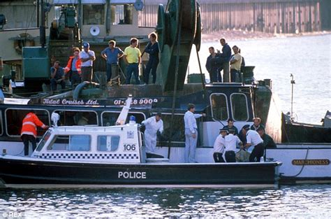 boat crash on thames today marchioness tragedy remembered families gather for