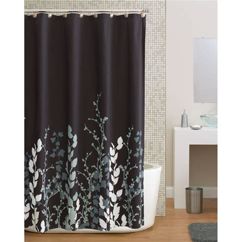butterfly curtains walmart mainstays butterfly fabric shower curtain walmart com