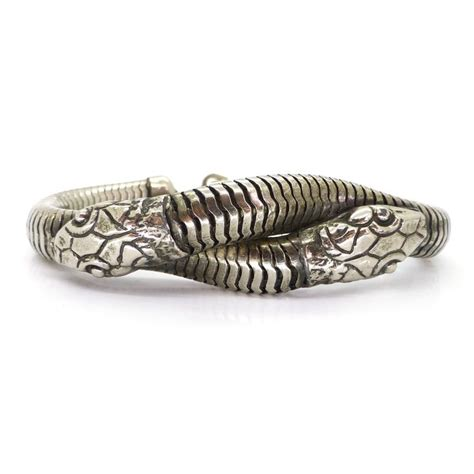 Ac 2621 Silver White 154 best images about vintage antique snake jewellery on