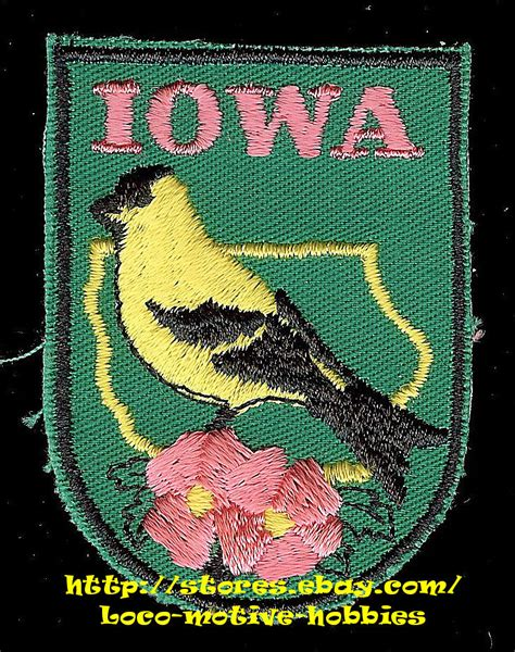 related keywords suggestions for iowa state flower lmh patch badge iowa state bird eastern goldfinch flower