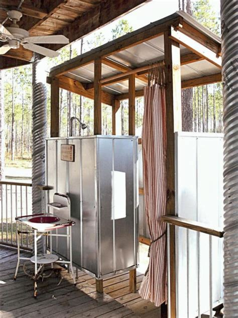 Outdoor Shower In Cold Climate by Outdoor Showers Noelle O Designs