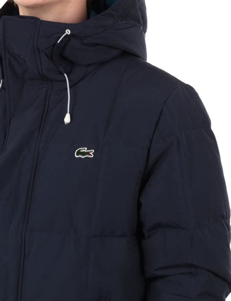 lacoste live quilted jacket navy jackets from iconsume uk