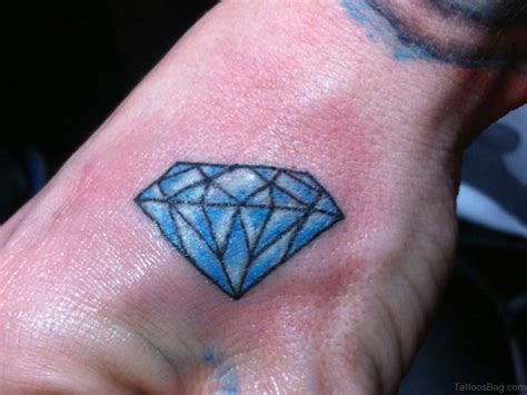 diamond tattoo on hand 48 tattoos on