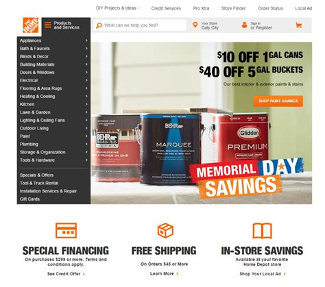 home depot website 28 images home depo home depot