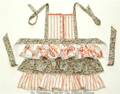 apron pattern with ruffles ruffles buttons apron tutorial i m going to the thrift