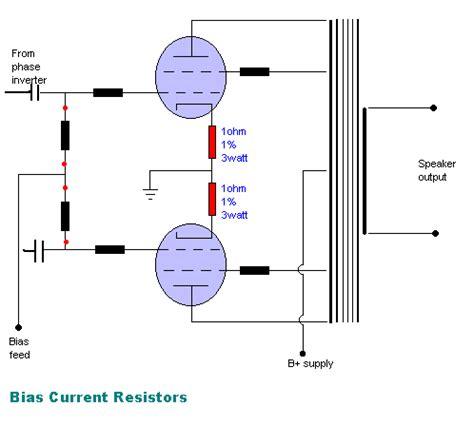 what is bias resistor vintagehifi dk vis emne r 216 r teknik