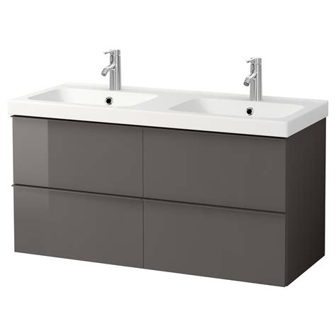 Sinks Interesting Ikea Double Sink Vanity Ikea Double Bathroom Cabinets With Sink