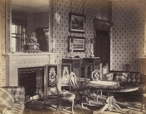 design house furniture victoria the queen s drawing room balmoral castle unknown ngv