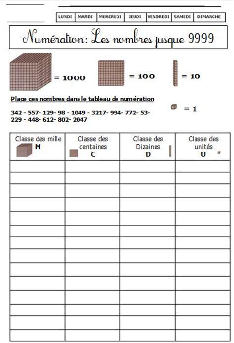 Dossier Exercices Autonomes De Num 233 Ration Ce1 Blog De Coloriage Magique Ce S Ou Ss L
