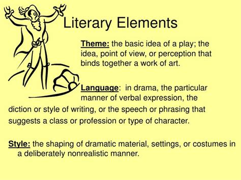 Themes In Dramatic Literature | ppt elements of drama theatre powerpoint presentation