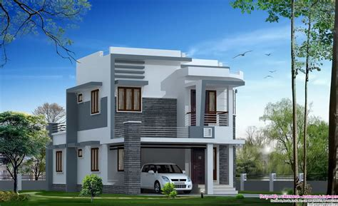modern villa design at 1650 sq ft