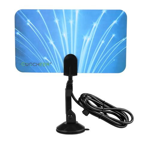 digital indoor tv antenna box ready hd uhfvhffm  satellite signal ebay