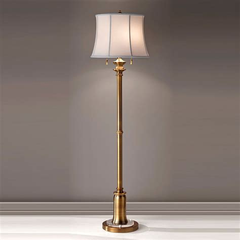 halogen desk ls uk elstead fe staterm fl bb stateroom bali brass floor l