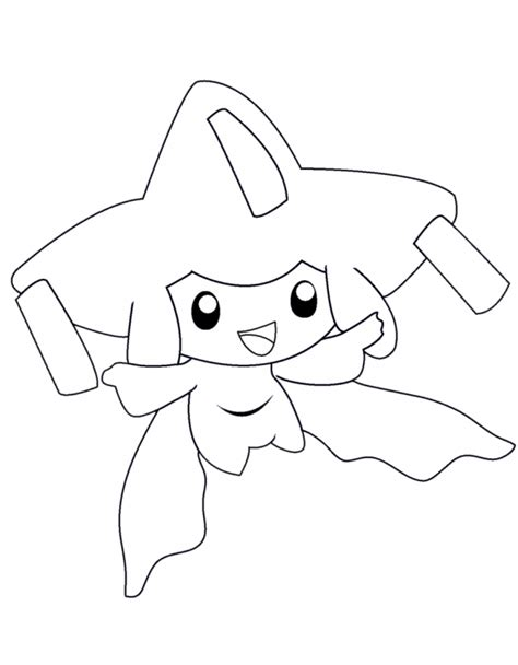 pokemon coloring pages jirachi chestnut pokemon coloring page images pokemon images
