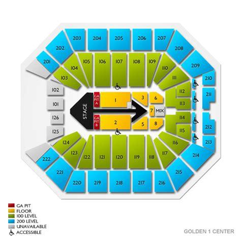 guide golden center seating chart