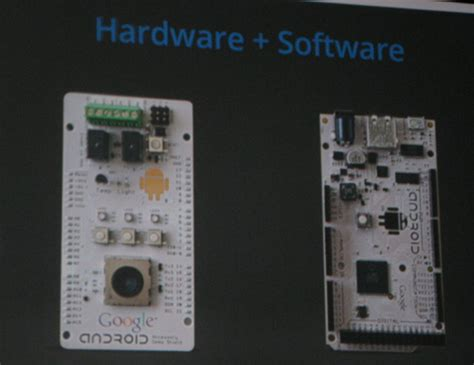 extends android into embedded hardware home automation