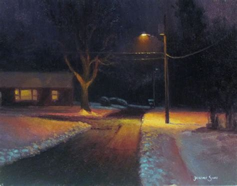 plein air paintings from paint snow hill featured in may capturing winter en plein air jeremy sams art