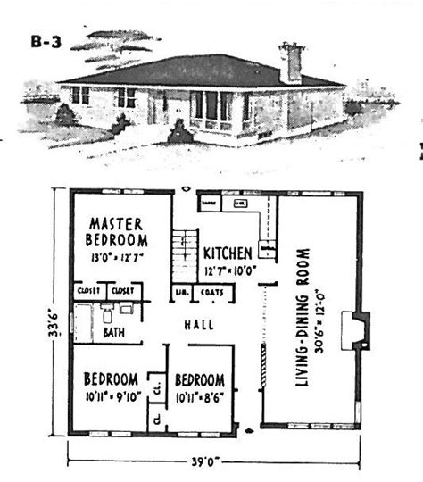 Mid Century Modern And 1970s Era Ottawa March 2011 1950 Bungalow House Plans