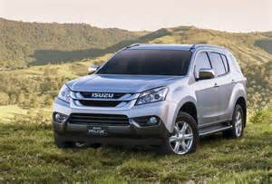 Isuzu Mu X Australia 2017 Isuzu Mu X Arrives In Australia Gets 6sp 5