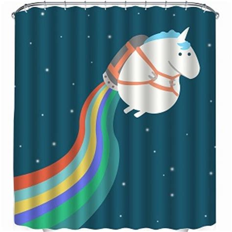 unicorn bathroom accessories unicorn shower curtains are magical