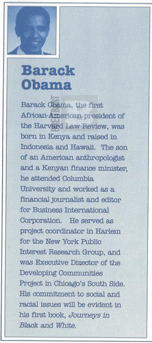 barack obama birth biography breitbart com 1991 promotional document says obama was