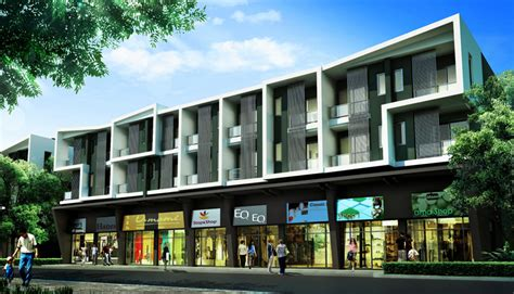 home design stores hoboken shophouse of 4 floors commercial building b avenue watcharaphol sansiri company limited