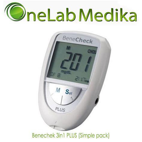 Autocheck 3in1 Gcu Multi Monitoring Sytem benechek 3in1 plus simple pack onelab medika