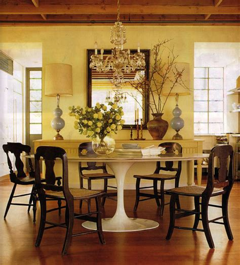 mixing modern chairs with antique table tulip chairs go chairs to pair with the tulip table mcgrath ii blog