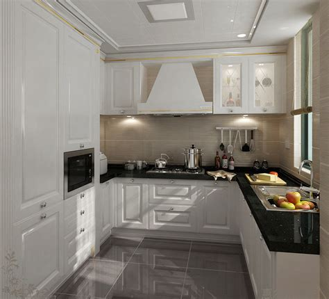 High Gloss Lacquer Kitchen Cabinets by China 2015 White Solid Wood Modular Kitchen Cabinet Photos