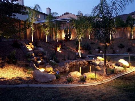 Outdoor Backyard Lighting Ideas Stunning Backyard Lighting Ideas Diy Home Decor