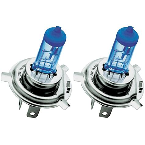 Lu Halogen Philips Blue Vision halogen bulb philips masterduty blue vision h4 75 70 w