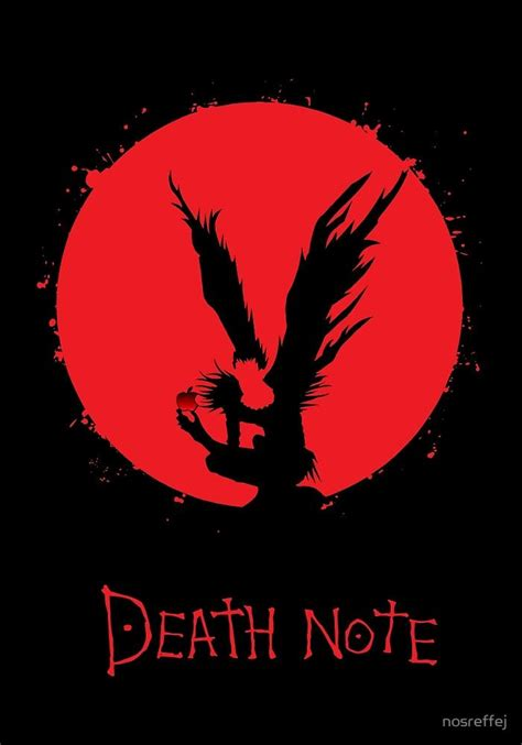 Tshirt Deat Note Europen 10 best ideas about shinigami on note