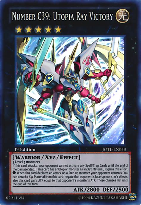 Yu Gi Oh Zexal Number Cards