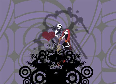 wallpaper nightmare before christmas jack and sally jack and sally by uniquelyyours93 on deviantart