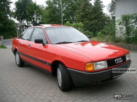 auto body repair training 1991 audi 80 on board diagnostic system 1991 audi 80 red 200 interior and exterior images
