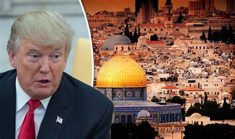 donald trump yerusalem days of rage terror police on high alert as trump
